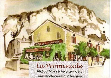Resto La Promendae à Marcilhac sur Célé | Divers : tourisme, culinaire... | Scoop.it