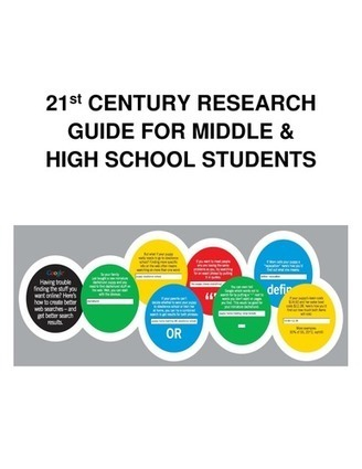 21st Century Research Guide for Middle & High School Students | COOL WEB  TOOLS FOR ESL, EFL, ELL & MFL LEARNERS | Scoop.it