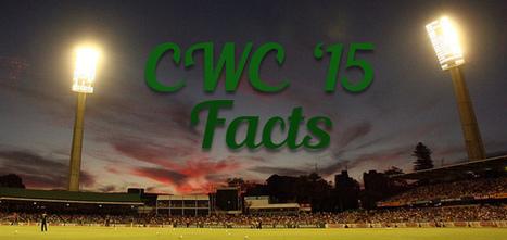 Top 10 Cricket World Cup 2015 Facts | Top Ten Lists | Scoop.it