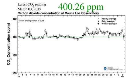 CO2 Levels for February Eclipsed Prehistoric Highs   Peer2Politics   Scoop.it