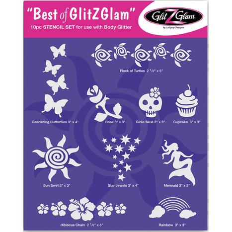 Glitter Tattoo Kits | Tattoo Stencils Sets | Scoop.it