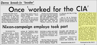 40 Years Ago This Week: 'The Watergate break-in and the Miami connection' | The Billy Pulpit | Scoop.it