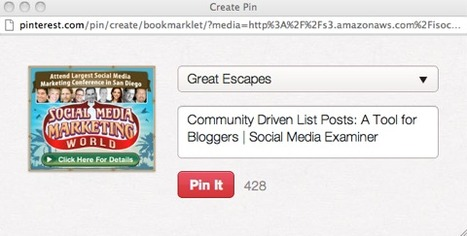 Pinterest Marketing: What Marketers Need to Know to Succeed  | Social Media Examiner | Pinterest for Business Use | Scoop.it