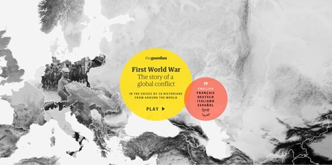 A global guide to the first world war - interactive documentary | Visioni digitali & Formazione | Scoop.it