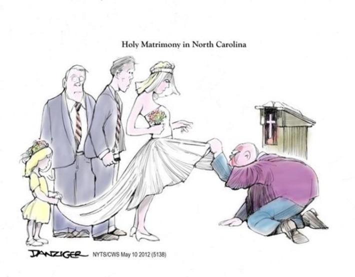 Mariage gay : l'Eglise ne sait plus où donner de la tête | Baie d'humour | Scoop.it