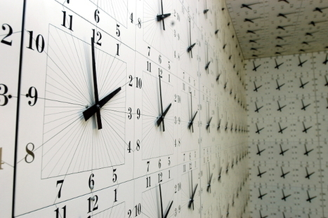 Richard Jackson: 1000 Clocks | installations art | Scoop.it