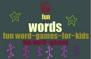 The Book Chook: Fun Word Games for Kids | Word Games | Scoop.it