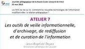 Les outils de veille informationnelle, d'archiv... | Veille informationnelle & recherche documentaire | Scoop.it