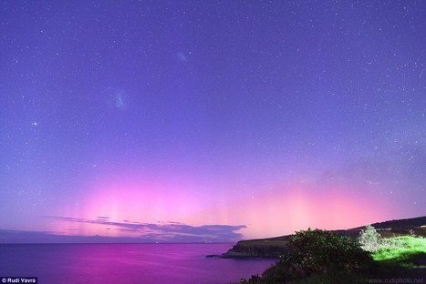 Photographs of 'Aurora Australis', phenomena that causes sky to GLOW | Everything from Social Media to F1 to Photography to Anything Interesting | Scoop.it