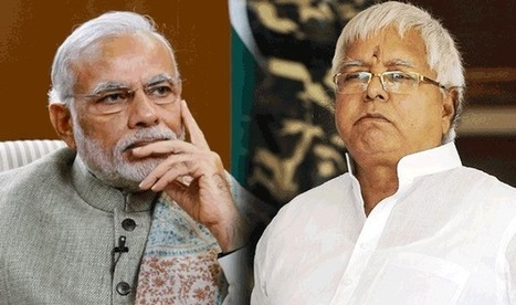 Lalu Prasad Yadav made a comparison between PM Modi & Uncle Podger | Mr. OWN | Scoop.it