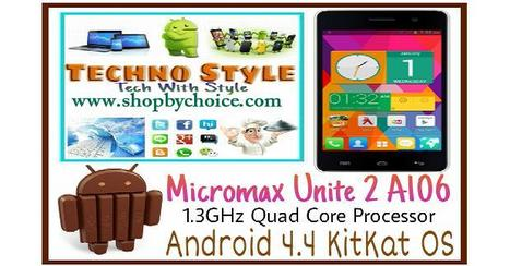 Micromax Canvas 2 A 106 Unite Mystic Gray Online @ discount price  in India | Online Shopping | Scoop.it