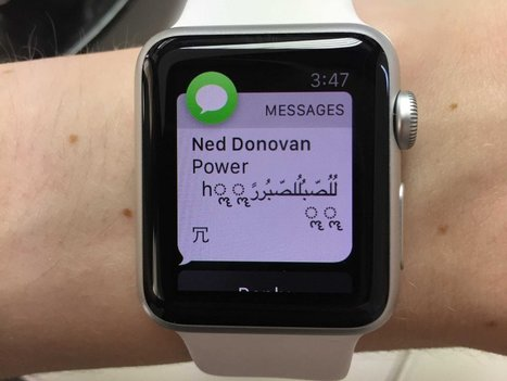 The bug crashing iPhones with a single text also affects Apple Watches and iPads   Real Estate Plus+ Daily News   Scoop.it
