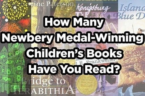 How Many Newbery Medal-Winning Children's Books Have You Read? | Books | Scoop.it