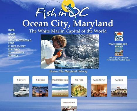 Concept Pitched To Market Ocean City As Major Fishing Destination - The Dispatch | Ocean City Cool | Scoop.it