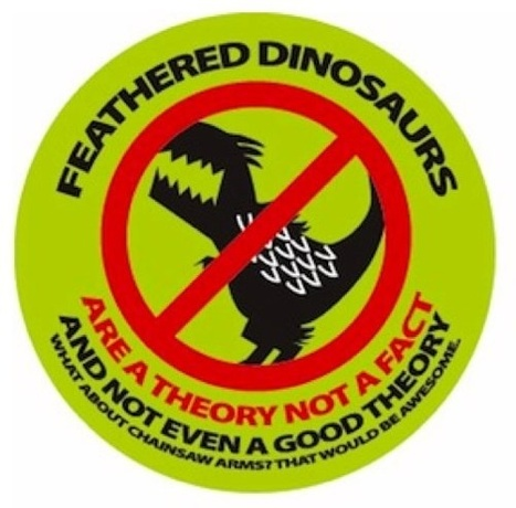 Dispatches from the feathered dinosaur wars | Conformable Contacts | Scoop.it