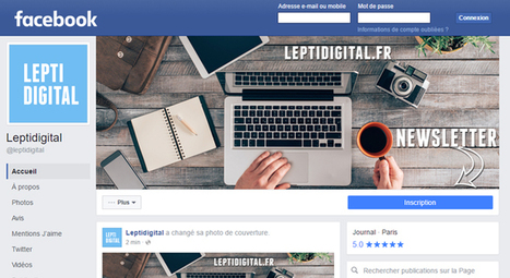 Nouveau Design des Pages Facebook : 5 Choses à Savoir ! | Digital Social Club | Scoop.it