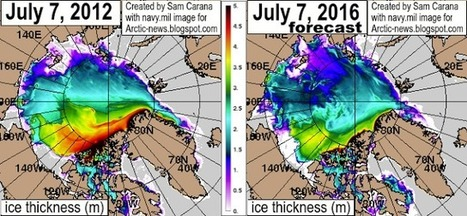 "Arctic News: 2016 Arctic Sea Ice Headed To Zero (""accelerated global warming seen"") 