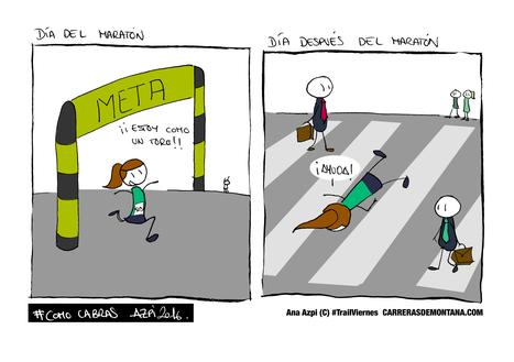 Trail Viernes (42): El Maratón de Montaña…y el día despues. Por Ana Azpi. | trailrunning | Scoop.it