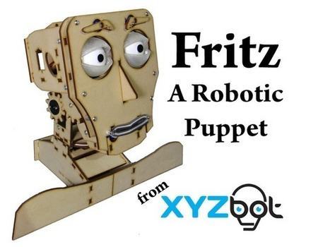 Update 1: Day 2 and 40% there! · Fritz: A Robotic Puppet | Innovative Marketing and Crowdfunding | Scoop.it