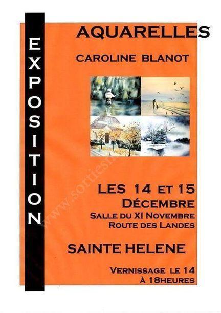 Se divertir dans le Médoc - Agenda - Exposition de Caroline Blanot | Sainte-Hélène de la Lande Médoquine 33480 scooped by Raymond PIOMBINO | Scoop.it