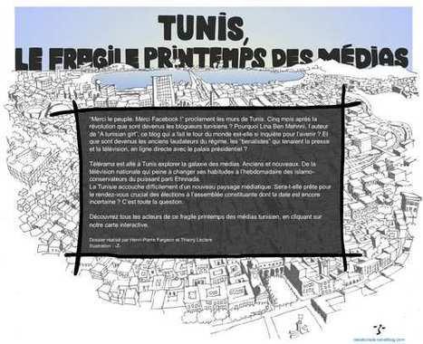 Tunis, le fragile printemps des médias | Telerama.fr | L'actualité du webdocumentaire | Scoop.it