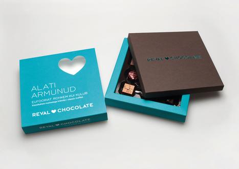Revel Chocolate | Logo & Brand | Scoop.it