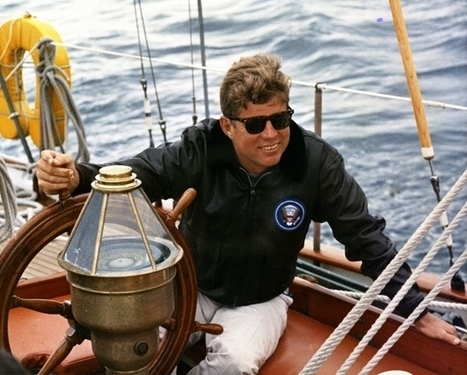 26 Flawless Photos Of John F. Kennedy | Wonderful World of History | Scoop.it