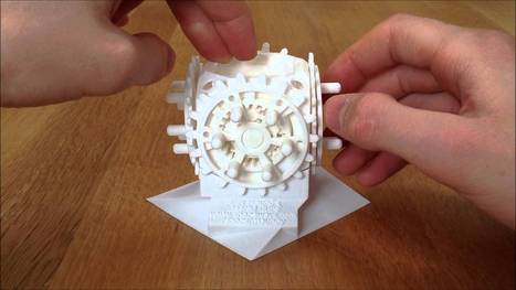 28-geared, 3D-printed cube | FBM WebDesign | Scoop.it