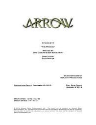 Arrow First Reveal: Title & Credits For Episode #2.15! | GreenArrowTV | CW's Arrow | Scoop.it
