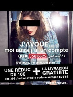 Les 3 Suisses surfent sur l'affaire Cahuzac... pour une publicité | IMAGE pub photo media cinema mode | Scoop.it