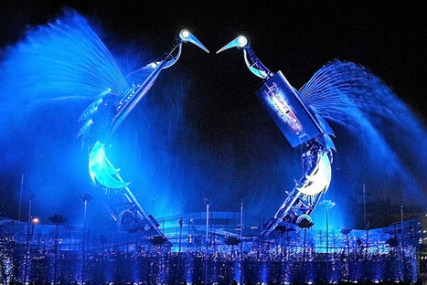 Crane Dance Sentosa, A Tale of True Love in RWS | Singapore Attractions | Scoop.it