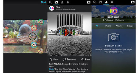 Flickr wants to become your new Instagram with its latest app update | Social Media Marketing | Scoop.it