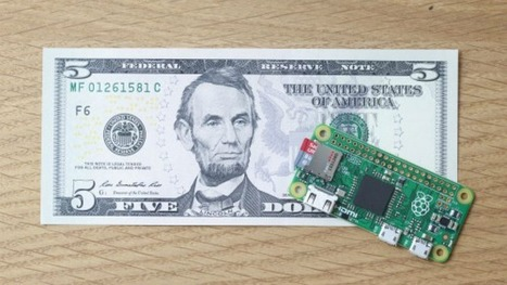 Raspberry Pi Zero is a tiny computer that costs only $5 | digital divide information | Scoop.it