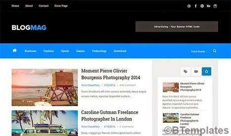 BLOGMAG | Blogger themes | Scoop.it