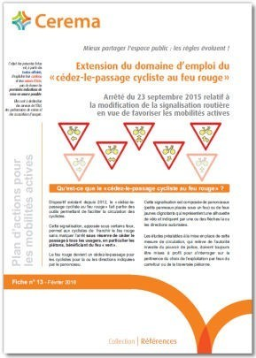 """Fiche  PAMA n°13 - """"cédez-le-passage cycliste au feu rouge""""   Politiques cyclables des territoires   Scoop.it"""