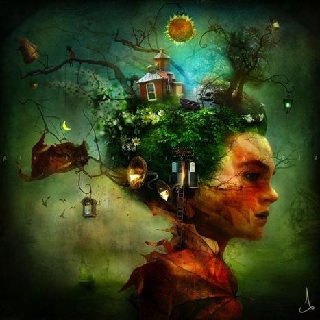 Ilustración Digital Surrealiste de Alexander Jansson - My Modern Metropolis | Imaginat*ion | Scoop.it
