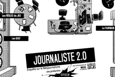 "Les Inrocks - ""Journaliste 2.0"" : le web-docu qui attire et garde les internautes 