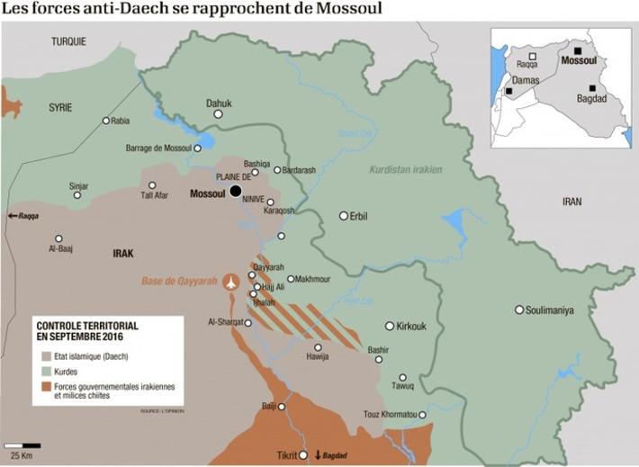 Comment réussir la reprise de Mossoul en Irak   Le Kurdistan après le génocide   Scoop.it