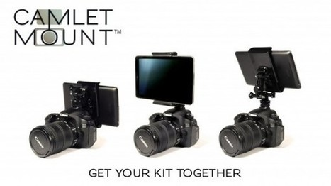 Mount Your Mobile Device Onto Your DSLR and Control Your Camera with the Camlet Mount | ExposureGuide.com | Camera Equipment | Scoop.it