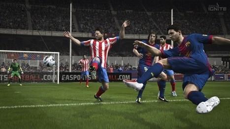 FIFA 14 de PS3 vs PS4: Comparativa gráfica usando sus tráilers   FIFAMERICAS   Scoop.it