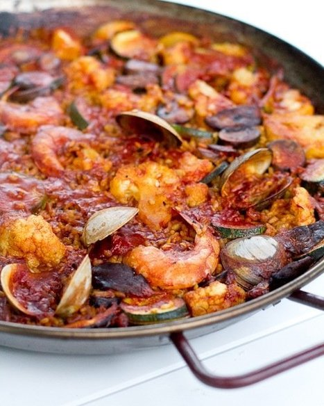 #RECIPE - Simple Grilled Paella | a Couple Cooks | Visit Spain | Scoop.it