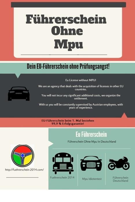 Führerschein Ohne Mpu | Eu Driving License | Scoop.it