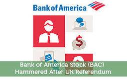 BoA shares drop after UK Referendum | Modest Money | Scoop.it