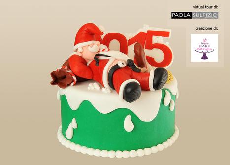 Babbo Natale si riposa - creazione di Valeria Cake Design   Fotografia news   Scoop.it