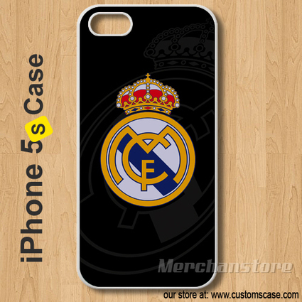 Real Madrid Custom iPhone 5s Case Cover | Merchanstore - Accessories on ArtFire | Custom iPhone 5s Case Cover | Scoop.it