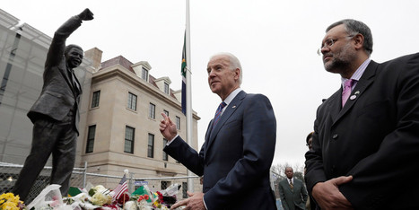Biden Signs Mandela Condolence Book At South African Embassy   Embassy of South Africa Washington DC   Scoop.it