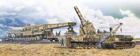 Karl-Gerät (041, 54cm) with rail and ammo transporters art | VIM | Scoop.it