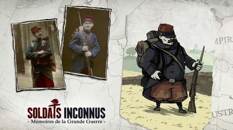 La série Art et Inspiration du jeu vidéo Soldats Inconnus   Culture numérique et éducation   Scoop.it