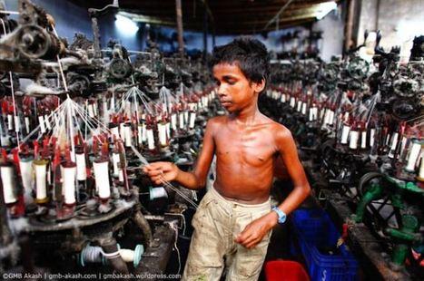 Un photographe bangladais photographie le travail des enfants   Vivre ensemble   Scoop.it