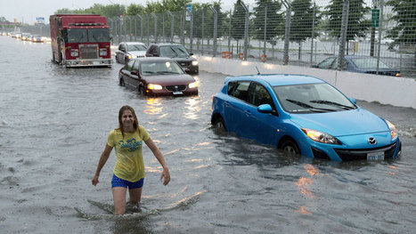 Driest July ever in Vancouver, record rain in Toronto | Climate change challenges | Scoop.it